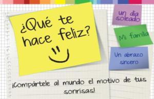 Descubre qúe te hace feliz